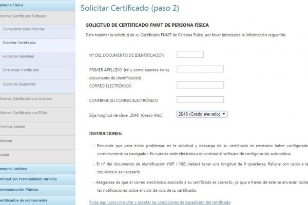 certificado fisico